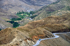Montagnes d'atlas, Maroc Photo stock