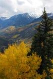 Montagnes d'automne photographie stock libre de droits