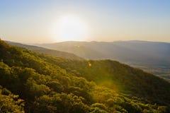Montagnes d'automne Photos libres de droits