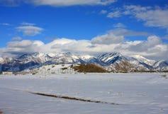 Montagnes d'avant de Wasatch, Utah images libres de droits