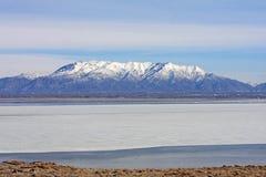 Montagnes d'avant de Wasatch, Utah image stock