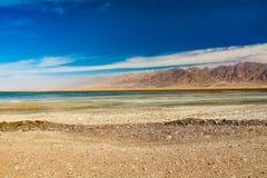 Montagnes d'Edom, Jordanie Photo libre de droits