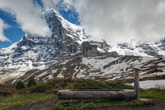 Montagnes d'Eiger et de Jungfrau, Suisse Image stock