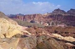 Montagnes d'Eilat photo libre de droits