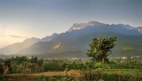 Montagnes d'Emei Image libre de droits