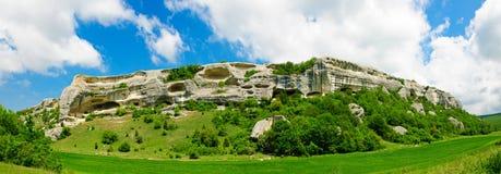 Montagnes d'Eski-Kermen Image libre de droits
