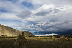 Montagnes d'haute altitude Images stock