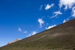 Montagnes d'haute altitude Photo libre de droits