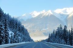 montagnes d'horizontal rocheuses Photographie stock libre de droits