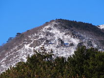 Montagnes d'IDA Images libres de droits