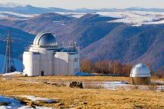 Montagnes d'observatoire d'astronomie Images libres de droits