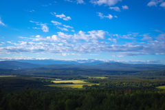 Montagnes d'Ural Photo stock