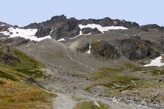 Montagnes d'Ushuaia Photographie stock