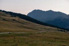 Montagnes dans Baqueira en été, Valle de Aran photos libres de droits