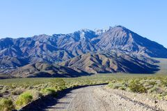Montagnes dans Death Valley Images stock