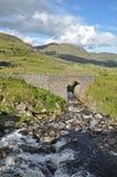 Montagnes dans Kerry Irlande Images stock