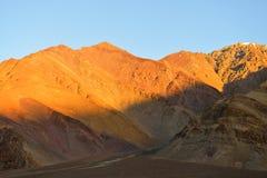 Montagnes dans Ladakh, Inde Photo stock