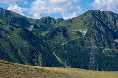 Montagnes dans le Bonaigua dans la vallée d'Aran, Pyrénées image libre de droits