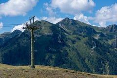 Montagnes dans le Bonaigua dans la vallée d'Aran, Pyrénées images stock