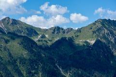 Montagnes dans le Bonaigua dans la vallée d'Aran, Pyrénées image stock