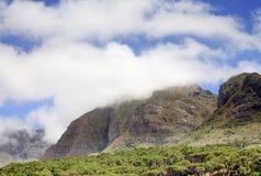 Montagnes dans le ciel, Capetown, Afrique du Sud Photographie stock