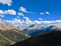 Montagnes dans le Colorado Photos libres de droits