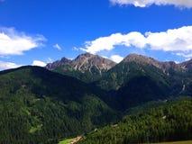 Montagnes dans le Tirol Photos stock
