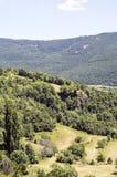 Montagnes dans les Pyrénées Images stock