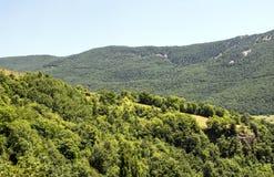 Montagnes dans les Pyrénées Image stock