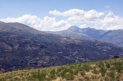 Montagnes dans les Pyrénées Photos stock