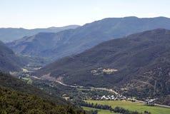 Montagnes dans les Pyrénées Photo stock