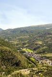 Montagnes dans les Pyrénées Image libre de droits
