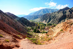 Montagnes dans Salta Images libres de droits