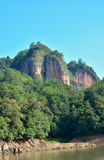 Montagnes décrites dans Fujian, Taining, Chine Photo libre de droits