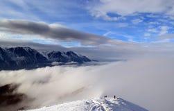 Montagnes de Baiu Photographie stock libre de droits