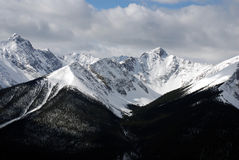 Montagnes de Banff Photo stock