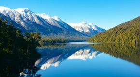 Montagnes de Bariloche photographie stock