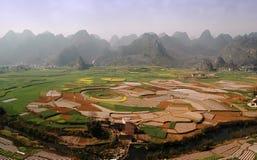 montagnes de bassin Photos libres de droits