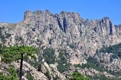 Montagnes de Bavella photo libre de droits