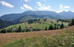 Montagnes de Belianske Tatry, Slovaquie, l'Europe Image libre de droits