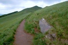 Montagnes de Bieszczady Images stock