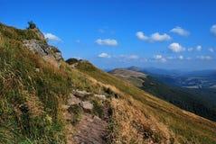 Montagnes de Bieszczady Photo stock