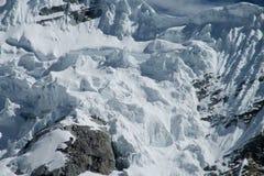 Montagnes de Blanca de Cordillère image libre de droits