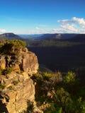 montagnes de bleu de l'australie Images stock