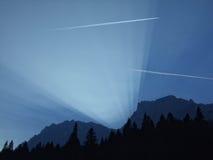 Montagnes de Bucegi Photographie stock