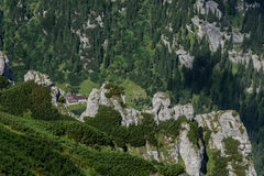 Montagnes de Bucegi Photo stock