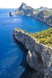 Montagnes de côte Photo libre de droits