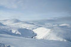 montagnes de cairngorm Photographie stock