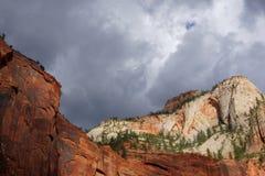 Montagnes de canyon Photo stock