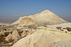Montagnes de Cappadocia Image stock
